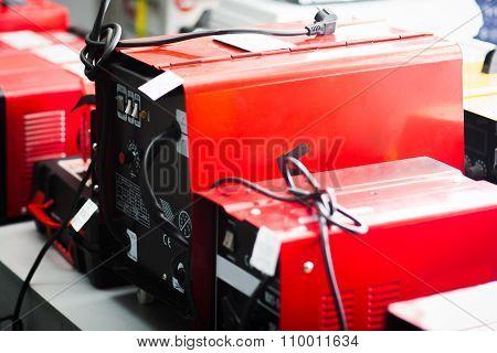 Welding Machine Display On Tools Store