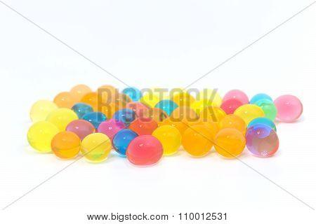 Colored Gel Balls