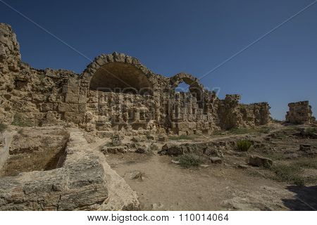 Salamis Ancient Roman Site In Cyprus