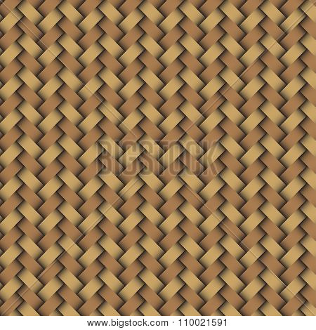 Woven wood pattern in mordern style nice poster
