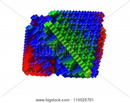 Colorful 3D Blocks