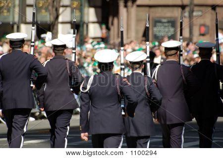 Uniformed Firefighters