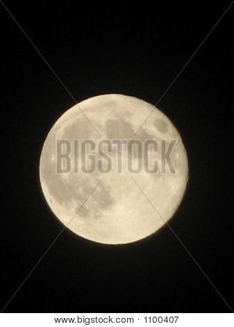 The Full Moon At Night
