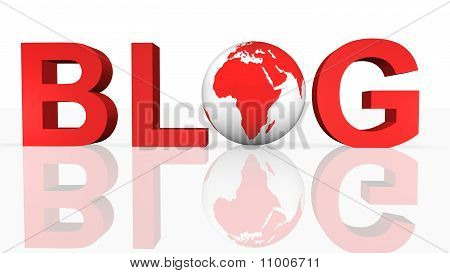 Online Blog Concept
