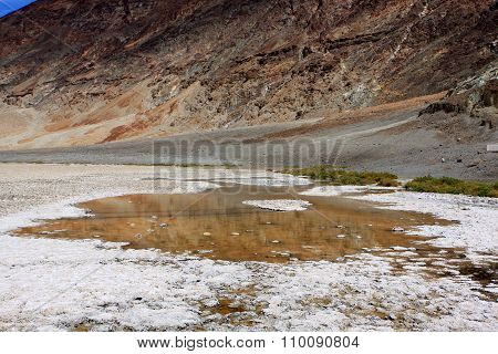 Badwater Basin in Death Valley National Park,  California, USA