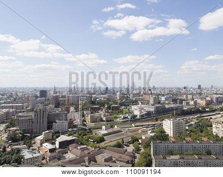 Top View Of A Metropolis