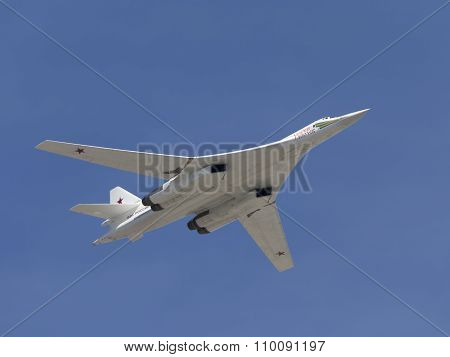 Tu-160 In Flight