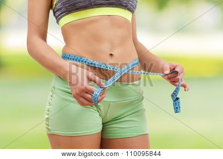 Slim Healthy Fitness Waist Measuring