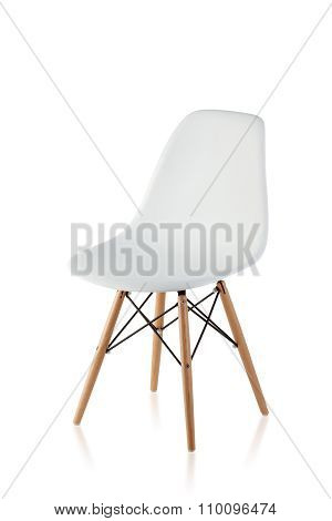 Modern Chair With Wooden Legs