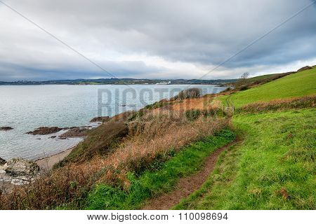 Winter On The South West Coast Path