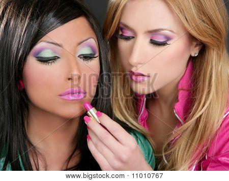 Lipstick Fashion Girls