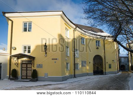 The Building Of The State Chancellery Of The Republic Of Estonia