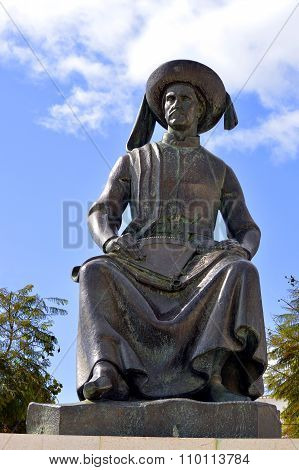 Statue of Henry the Navigator the Portuguese explorer f