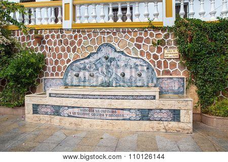 Fountain At Almogia
