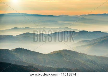 Blue Mountains And Hills
