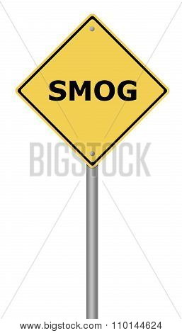 Warning Sign Smog