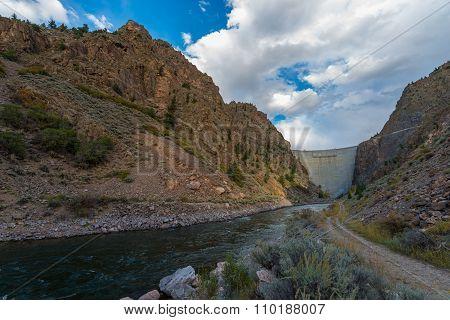 Crystal Dam Gunnison River Colorado