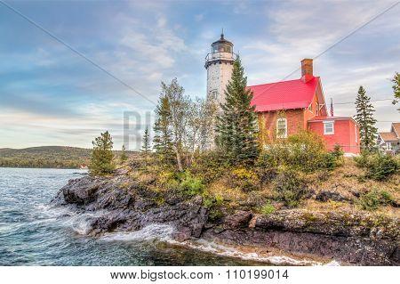 Eagle Harbor Lighthouse, Keweenaw Peninsula, Michigan  № 2240158 без смс