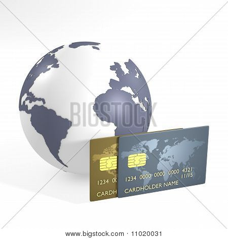 Credit cards and earth