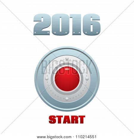Start Button, Vector Temlate