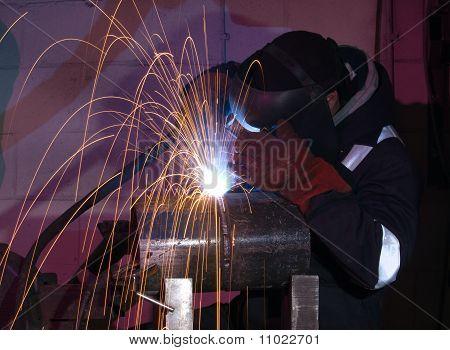 Steel Tube Mig Welding