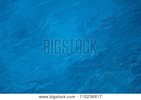 Vibrant Blue Crystal Clear Ocean Water As A Background