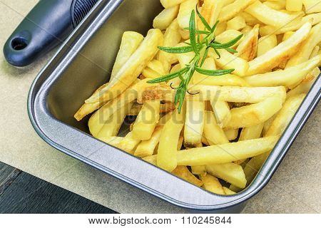 Frensh fries with rosemary