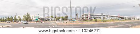 Panoramic Street Scene In Bloemfontein