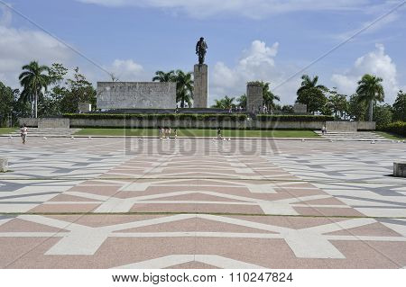The Che Guevara Mausoleum in Santa Clara, Cuba.