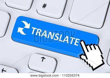 Translate Translation Language Translator On Internet