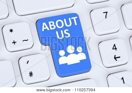 About Us Page Website Information Info Company Presentation On Internet