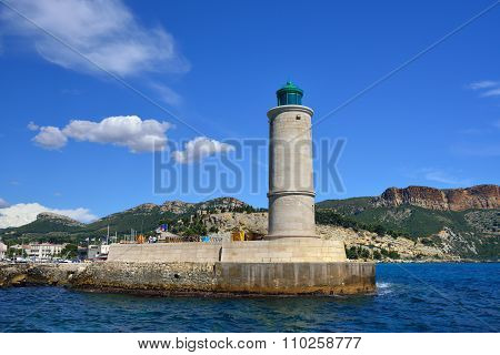 Lighthouse In Cassis. France