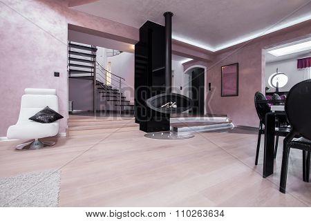 View Of Spacious Modern Interior