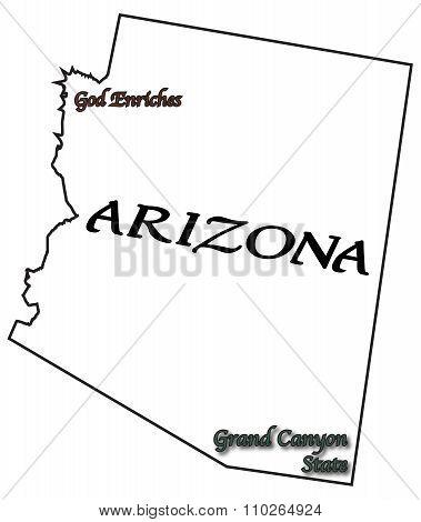 Arizona State Motto And Slogan