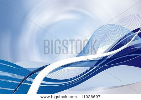 background in blue