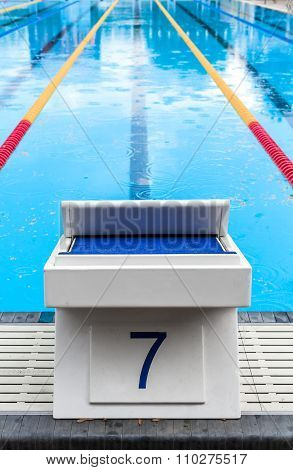 Pool Start Block with the Lucky Seven Number