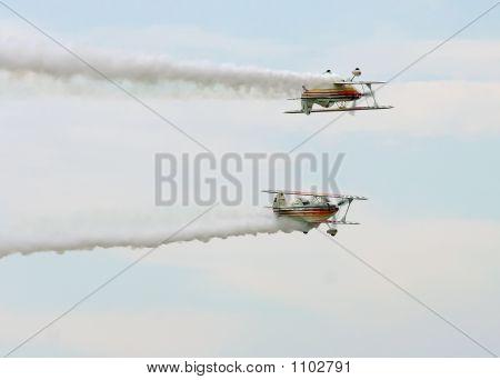 Twin Biplanes