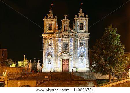 Church Of Santo Ildefonso, Porto, Portugal