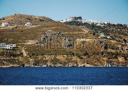 Monastery on the Greek island of Patmos