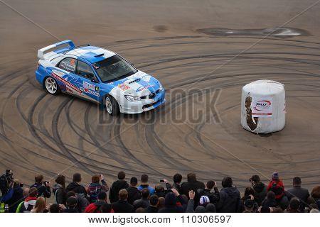 Subaru Impreza at Rally Masters Show