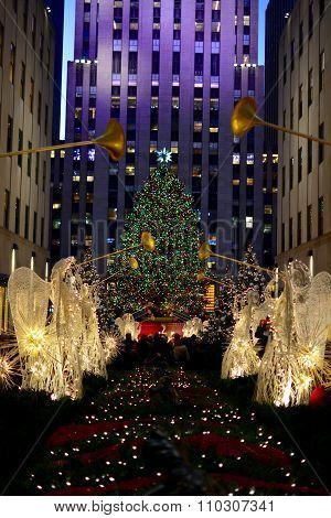 Christmas in new york - Rockefeller Center Christmas Tree