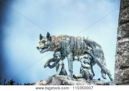 Siena She-wolf Statue