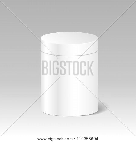 Realistic Blank White Product Package Box Mock Up To Advertise G