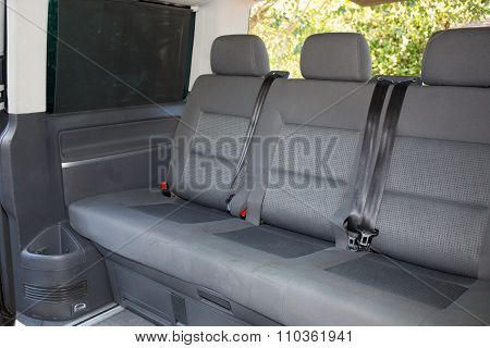 Car Back Seats Interior Of Big Car