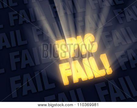 Big Time Epic Fail!