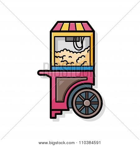 Popcorn Machine Doodle