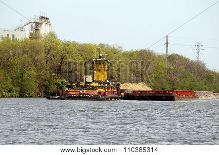 Towboat George W. Lenie