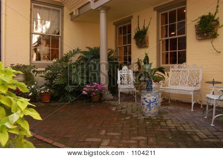 Old Brick Patio
