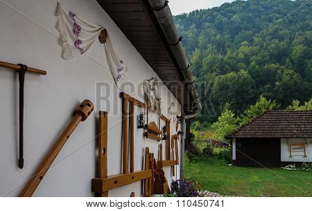 Traditional mountain house