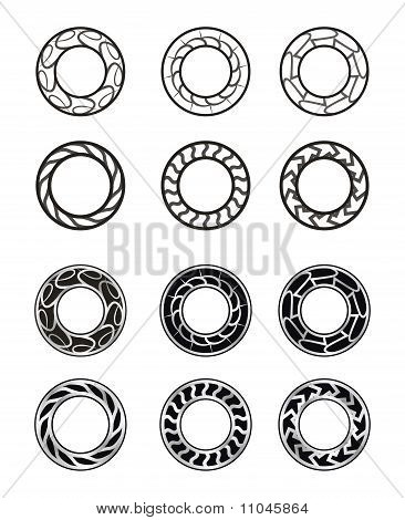Circle ring round (Vector)